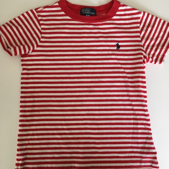 cbf30d0c Polo by Ralph Lauren Shirts & Tops | Ralph Lauren Red White Striped ...